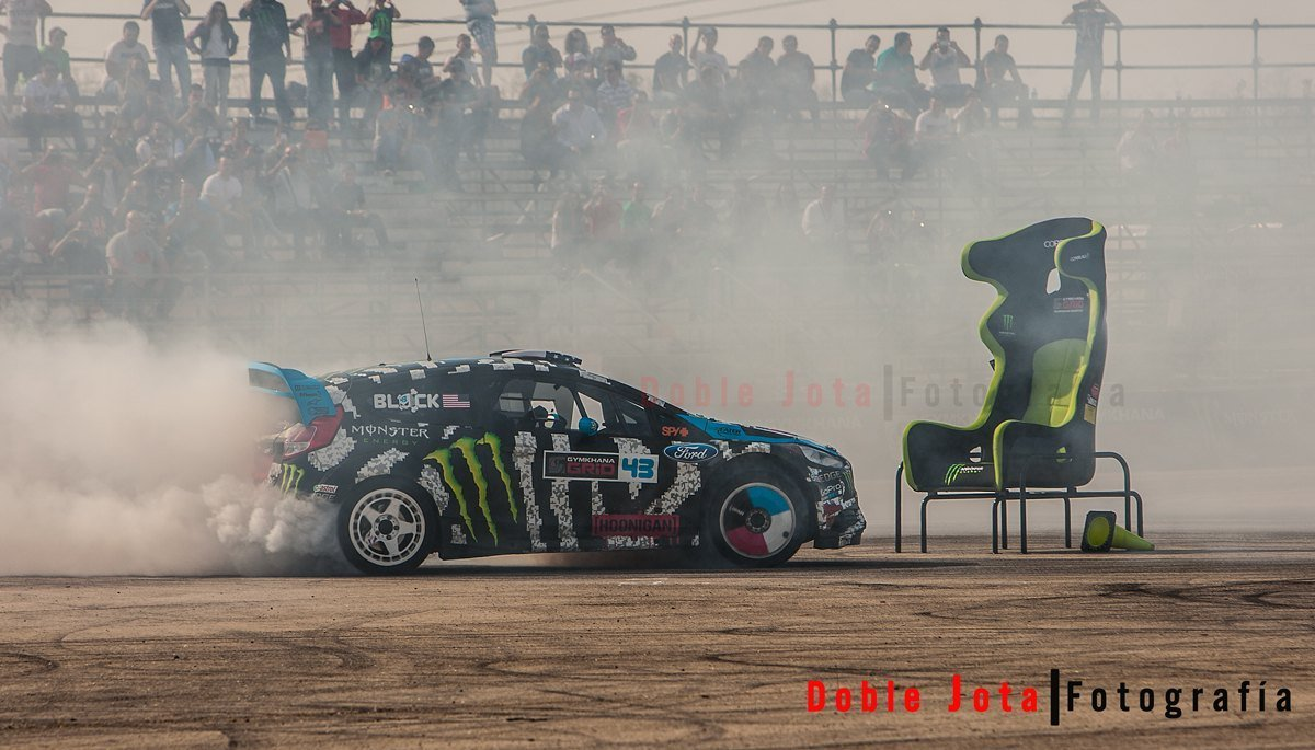 Gymkhana Grid Madrid