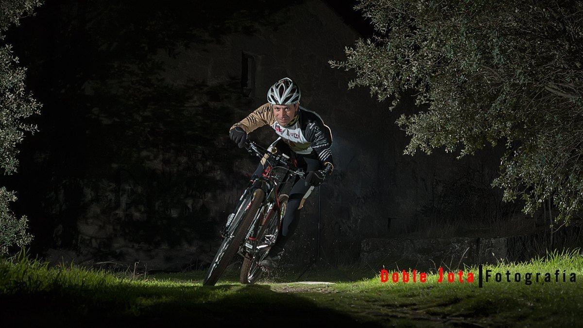 Sesión de fotos bici de montaña