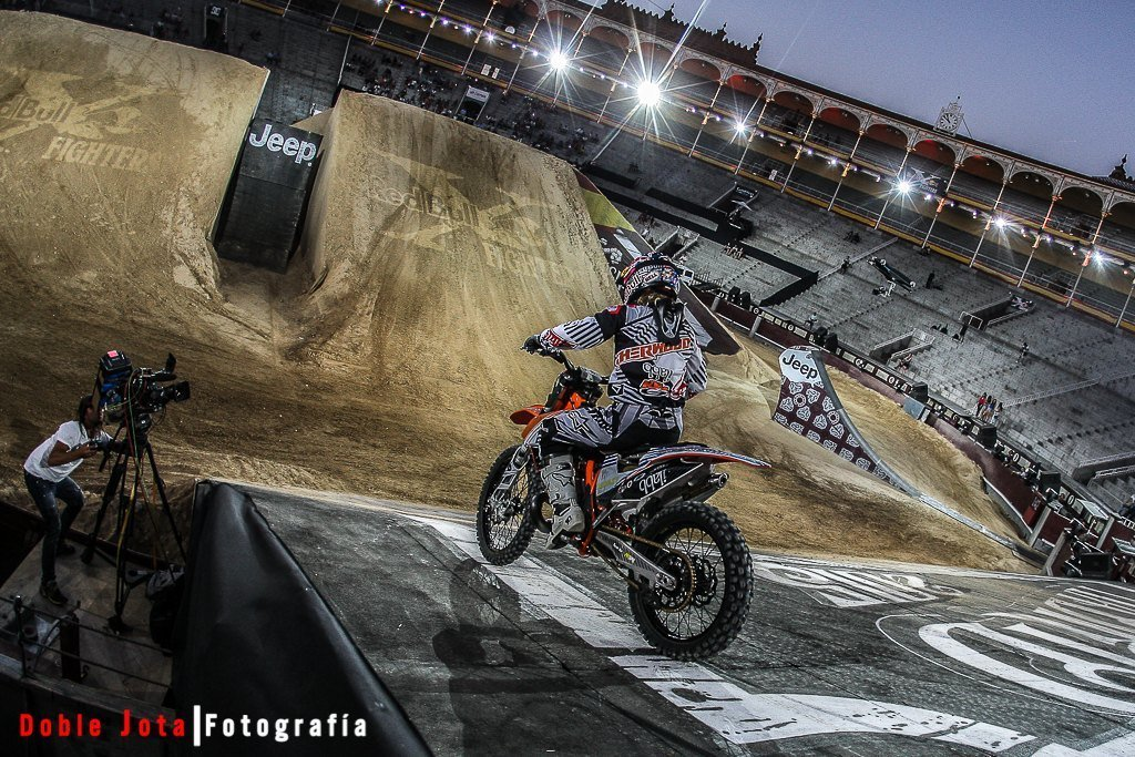 RedBull X-Fighters Madrid 2015, entrenamientos