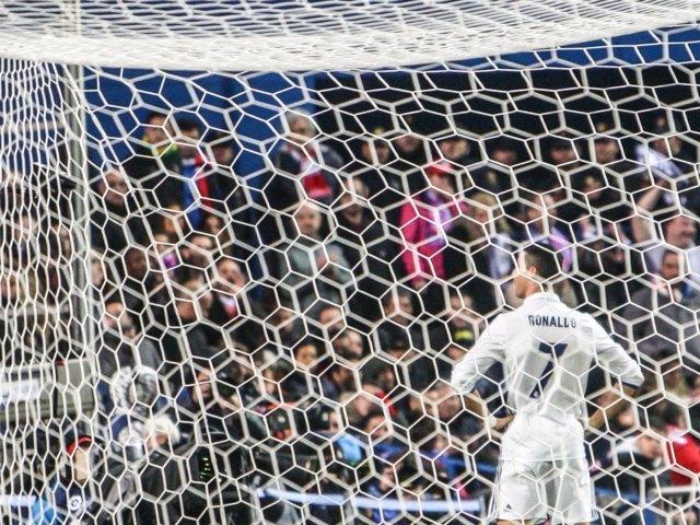 Ronaldo después de marcar