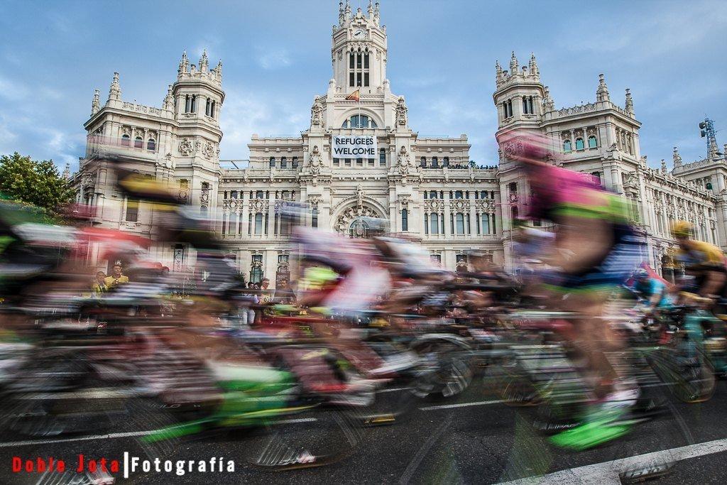 La Vuelta Ciclista 2015 a su paso por Madrid