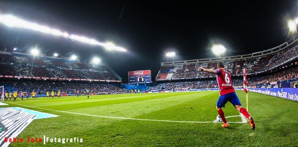 fotografia de futbol con angular
