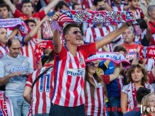Aficionados del Atletico: Fotografía de futbol