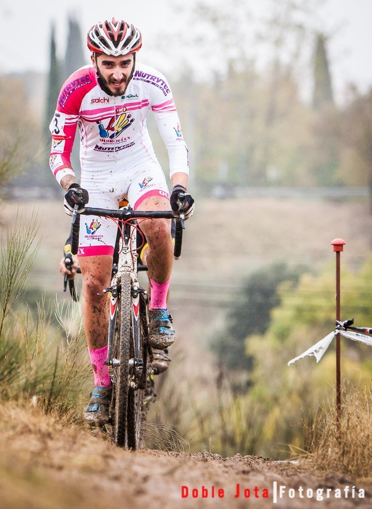 fotos de ciclocross, desde el suelo