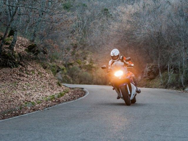 Sesión de moto