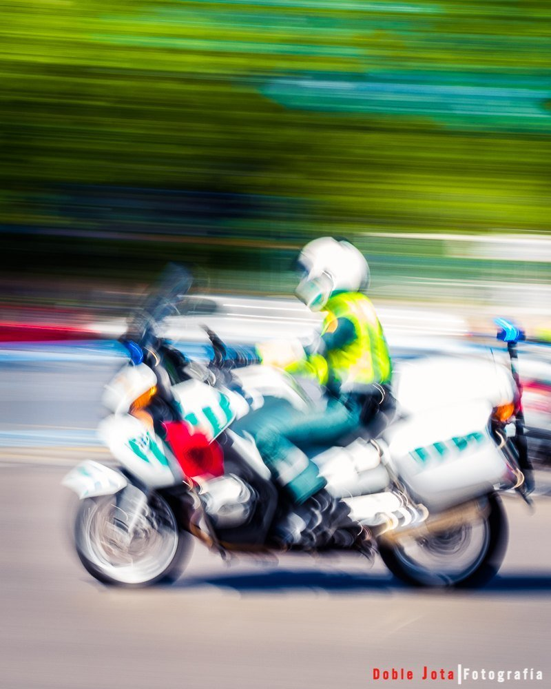 Motorista Guardia Civil - Doblejotafotografia.com