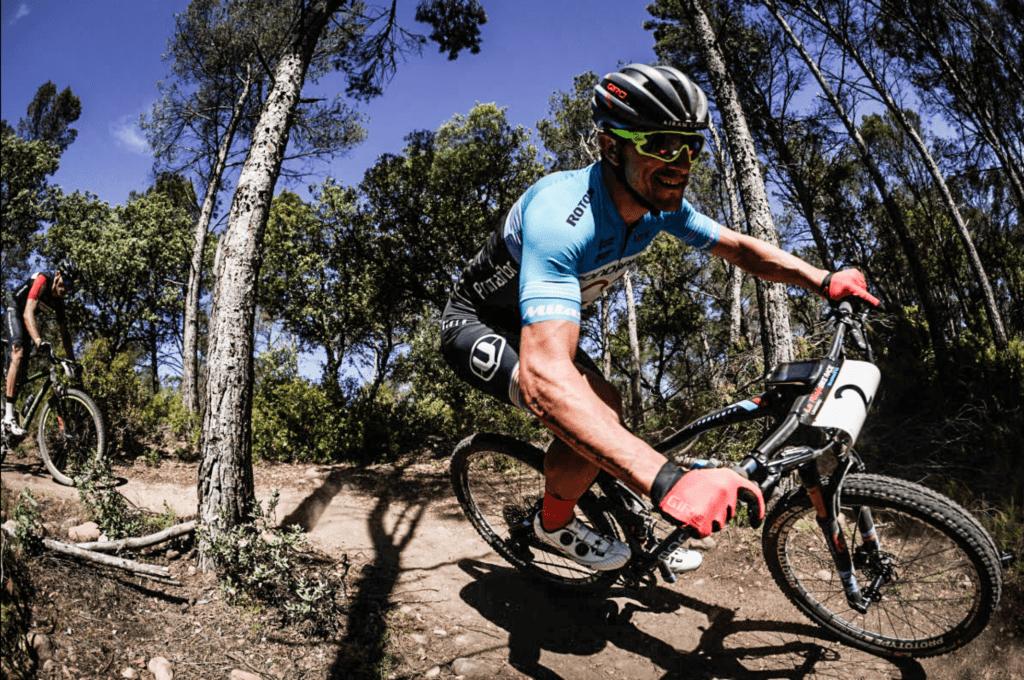 Carlos Coloma en la Rioja Bike Race