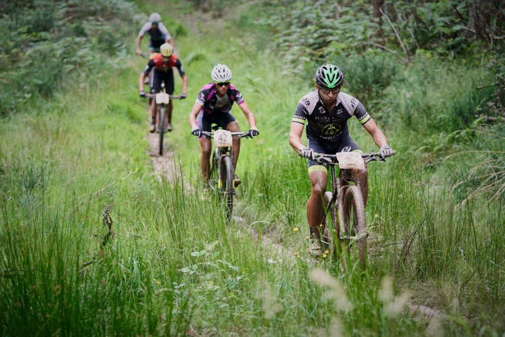 Con el Sony 70-200 y la Sony a9 en la Asturias Bike Race