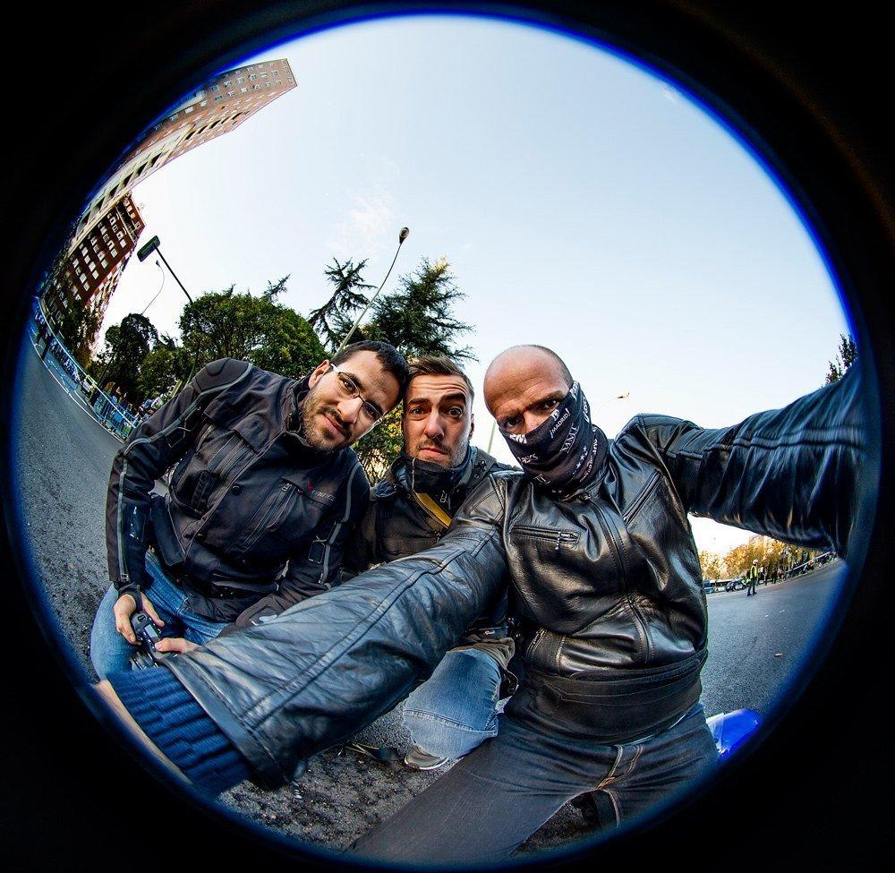 Selfie David, Oscar y yo