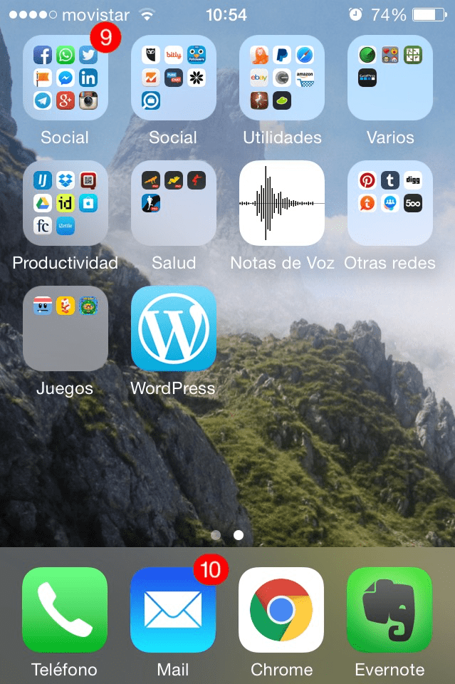 App de WordPress