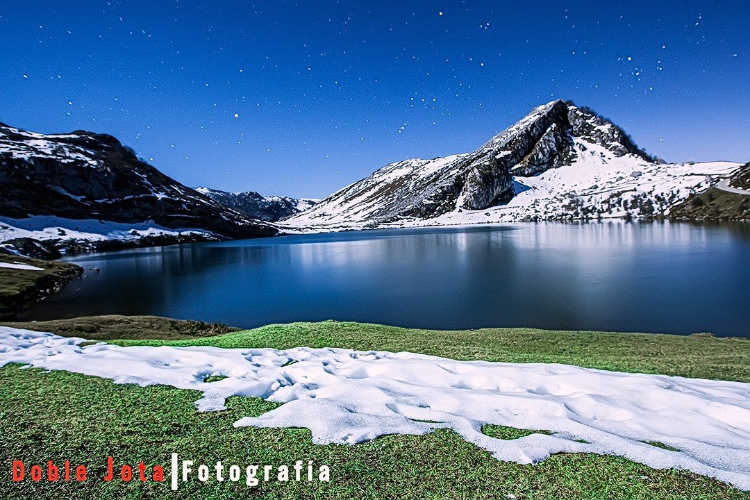 Lago Enol, en Lagos de Covadonga.